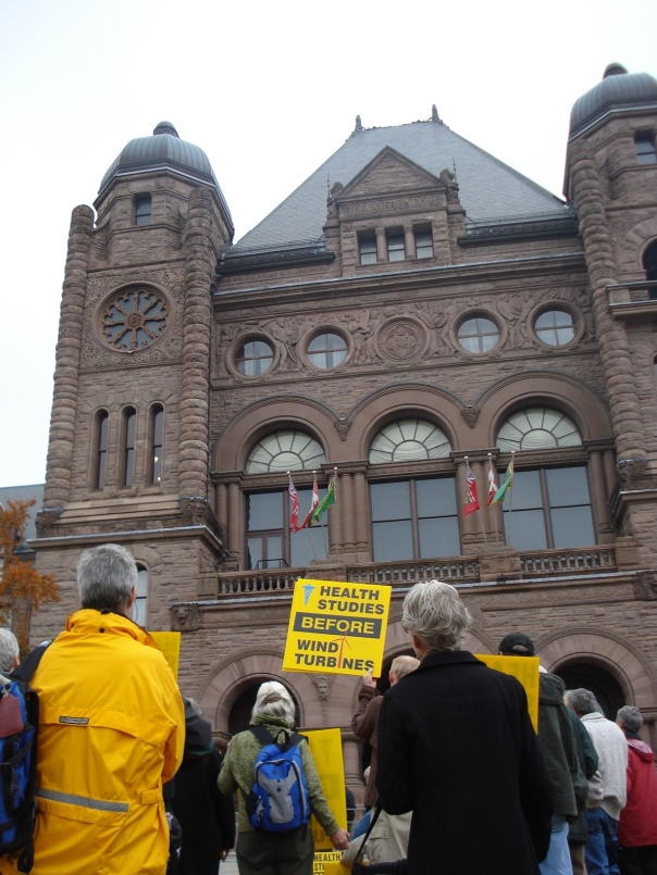 Protest at Ontario Legislature