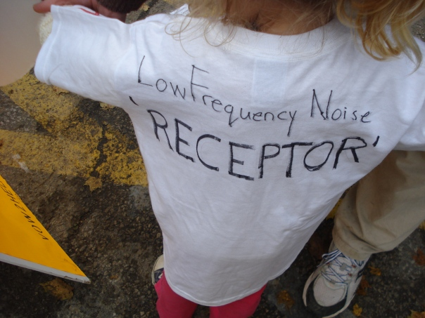 a young Low Frequency Noise 'RECEPTOR'