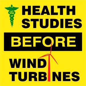 Health Studies Before Wind Turbines