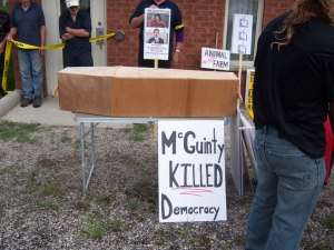 Mcguinty Killed Democracy
