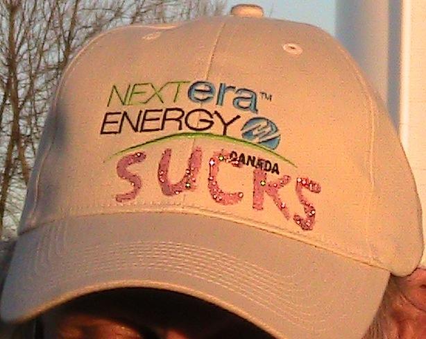 Wind farms suck